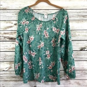 Vintage polyester 70s blouse